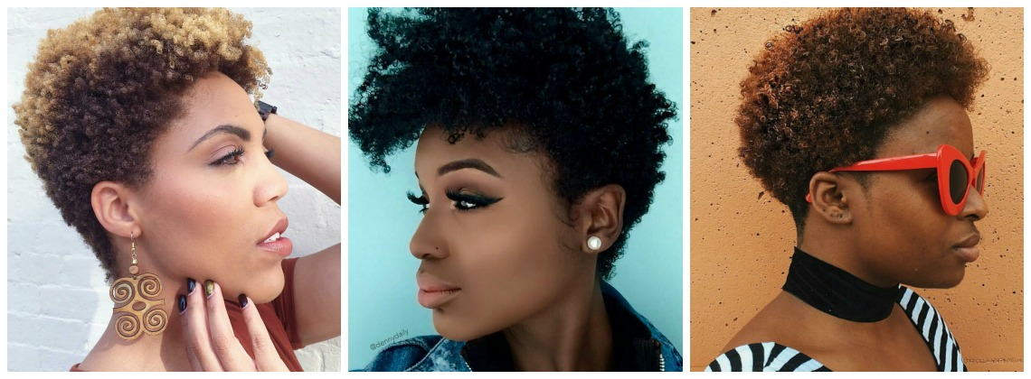 Natural Hair Tapered Cuts for Fall