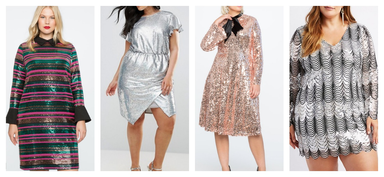 Plus Size Sequin Dresses Shopping Guide