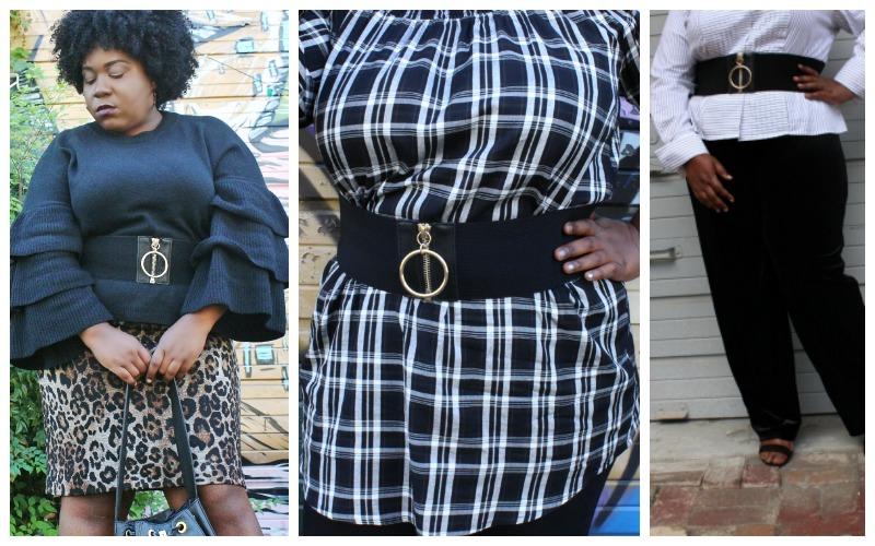 Plus Size Wide Waist Belts